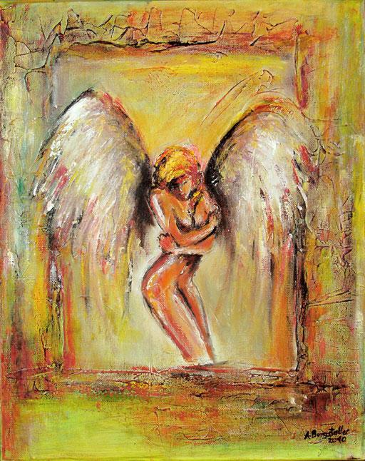F 14 - Figuerliche Malerei - Figurative Wandbilder - Verführerischer Engel