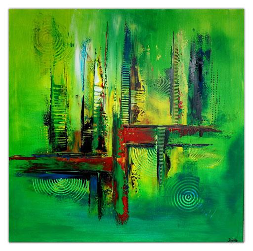 Abstrakte Kunst verkauft 362