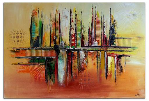 Abstrakte Kunstbilder verkauft 415