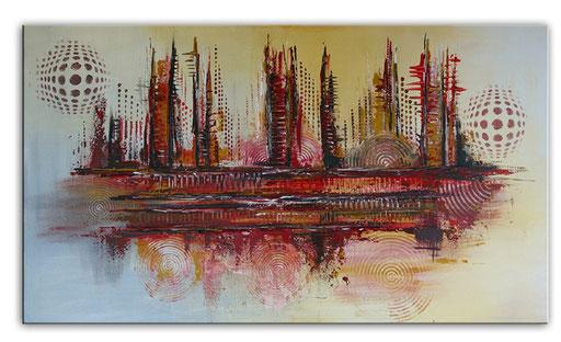 Abstrakte Kunst verkauft 370