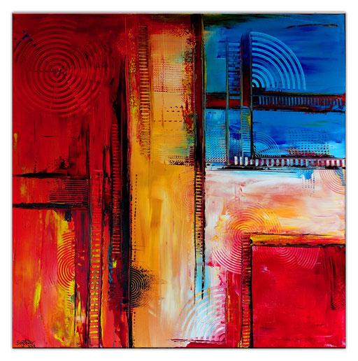 Abstrakte Kunst verkauft 373