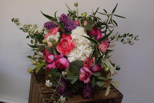 Bouquet coloré pour un anniversaire
