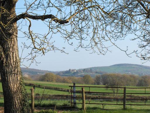 uitzicht hameau Domaine du Loup