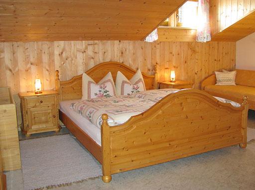 flat Haus Spannbauer: bedroom Klausgupf