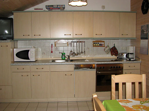 flat Haus Spannbauer ****: fully equipped kitchen Dreisessel