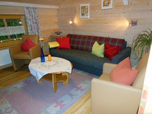 Flats Haus Spannbauer ****: Living room Plöckenstein