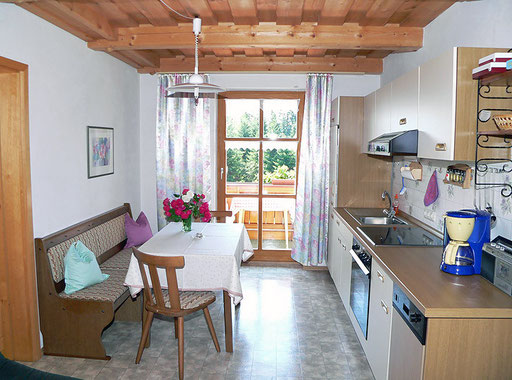 flat Haus Spannbauer: fully equipped kitchen Fuchsenstein with balcony