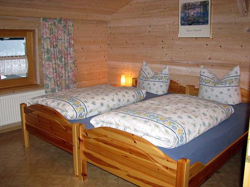 flat Haus Spannbauer ****: bedroom 1 Dreisessel