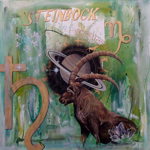 """Sternzeichenbild Steinbock - Serie """"spirit"""""""