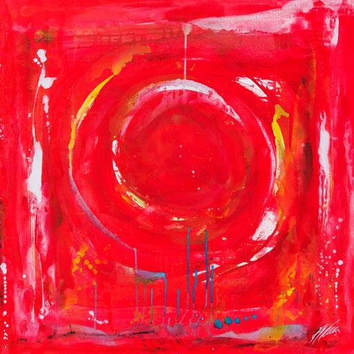 """Sternzeichenbild Löwe - Serie """"abstract"""""""