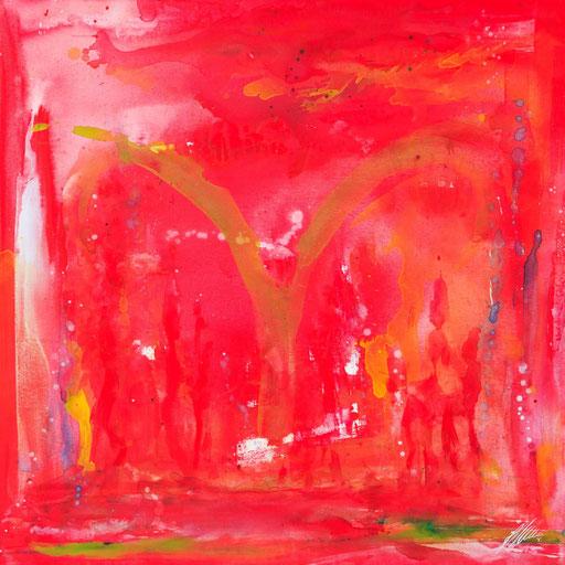 """Sternzeichenbild Widder - Serie """"abstract"""""""
