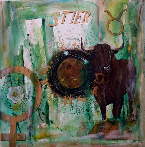 """Sternzeichenbild Stier - Serie """"spirit"""""""
