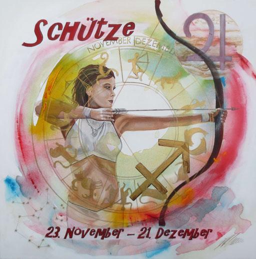 "Sternzeichenbild Schütze - Serie ""classic"""
