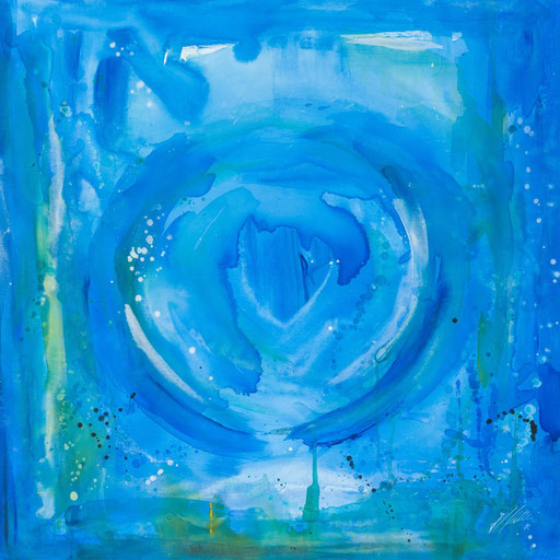 """Sternzeichenbild Fische - Serie """"abstract"""""""