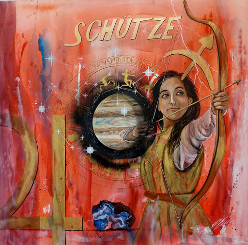 """Sternzeichenbild Schütze - Serie """"spirit"""""""