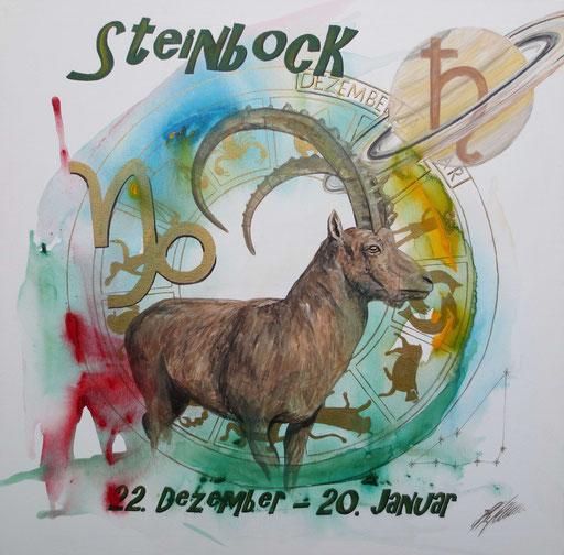 """Sternzeichenbild Steinbock - Serie """"classic"""""""