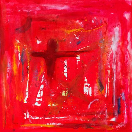 """Sternzeichenbild Schütze - Serie """"abstract"""""""