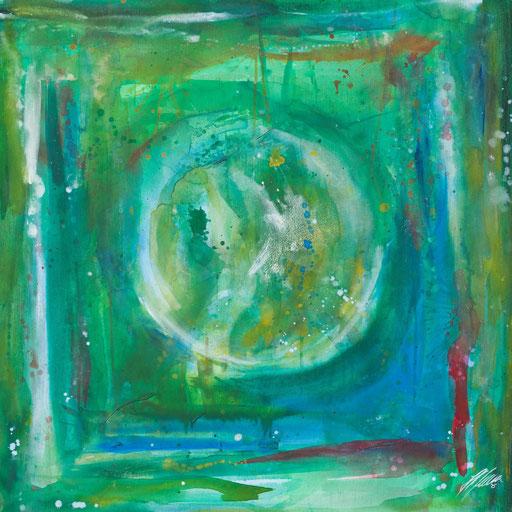 """Sternzeichenbild Stier - Serie """"abstract"""""""