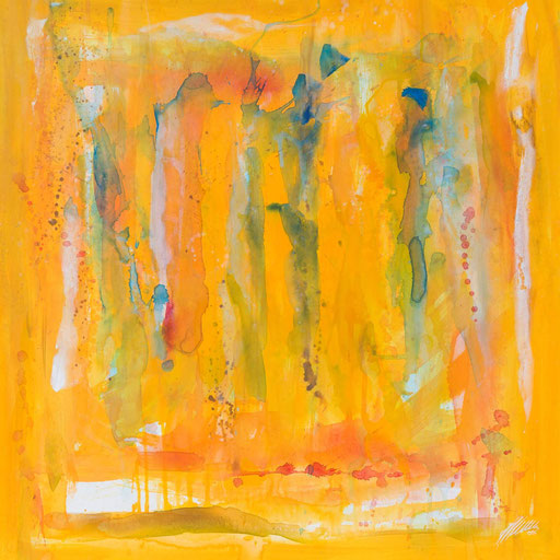 """Sternzeichenbild Wassermann - Serie """"abstract"""""""