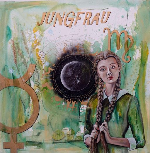 "Sternzeichenbild Jungfrau - Serie ""spirit"""