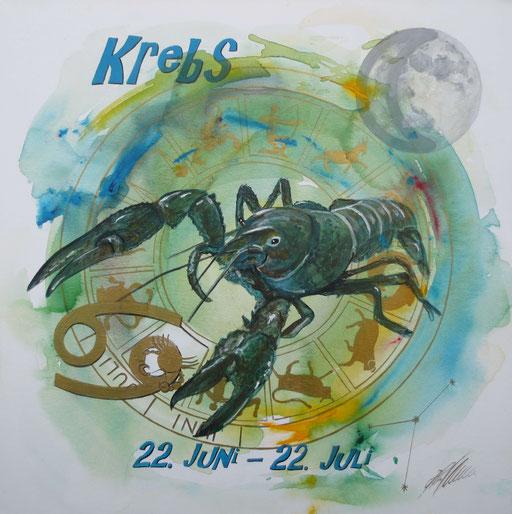 "Sternzeichenbild Krebs - Serie ""classic"""