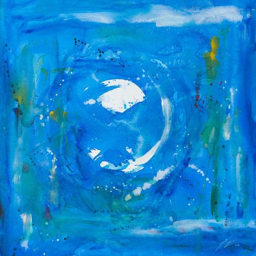 """Sternzeichenbild Krebs - Serie """"abstract"""""""