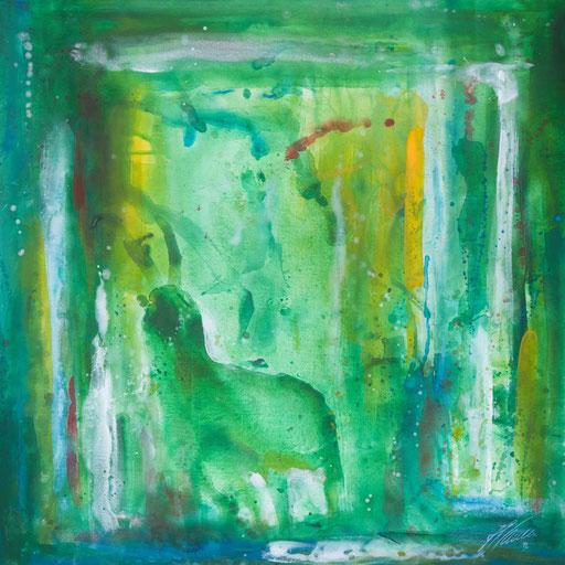 """Sternzeichenbild Steinbock - Serie """"abstract"""""""