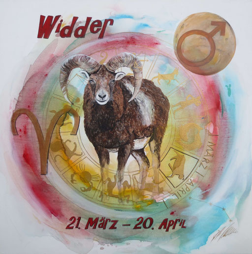"Sternzeichenbild Widder - Serie ""classic"""