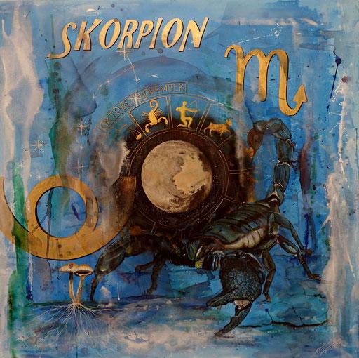 """Sternzeichenbild Skorpion - Serie """"spirit"""""""