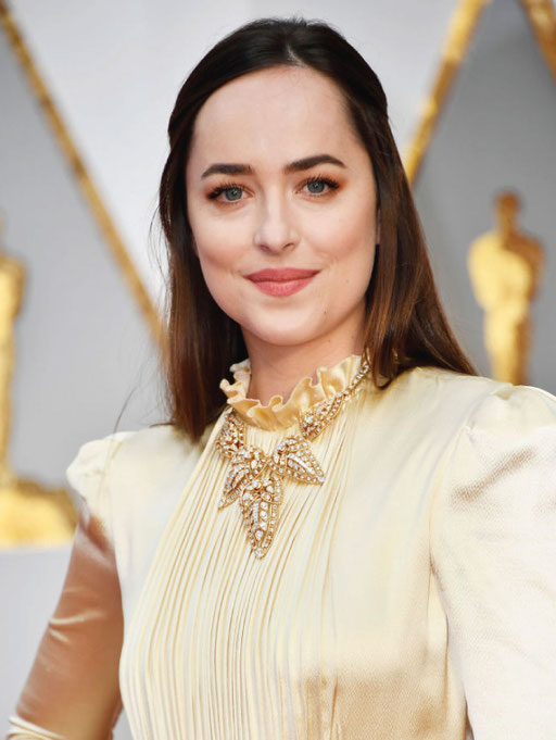 Dakota Johnson in vintage Cartier