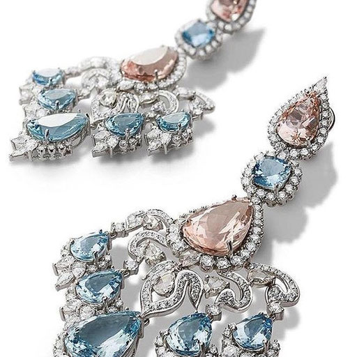 FARAH KHAN FINE JEWELLERY earrings
