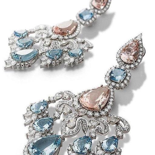 FARAH KHAN FINE JEWELLERY earrings