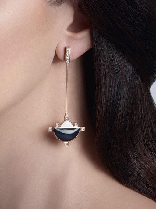NC ROCKS earring