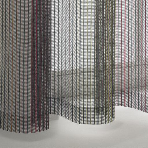 transparente Gardinen in Regenbogenfarben in Langenselbold und Hanau