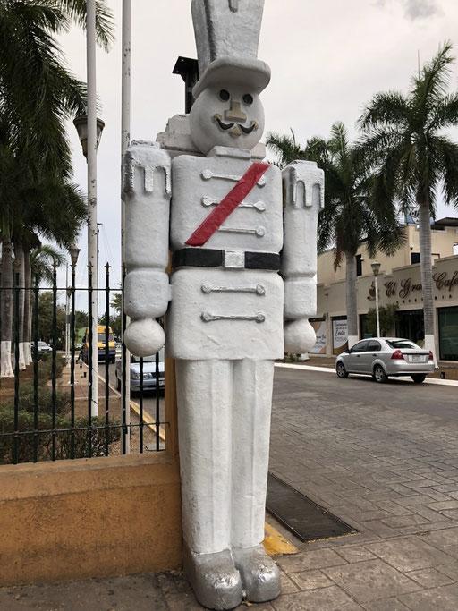 Walking around Merida
