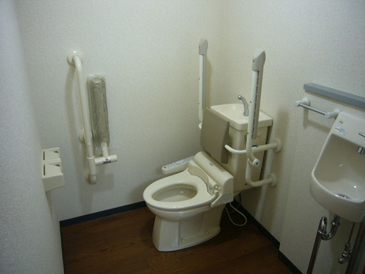 介護リフォーム、トイレ