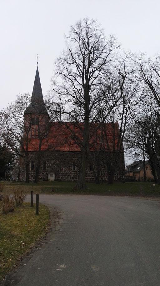Zugige Dorfstraßen