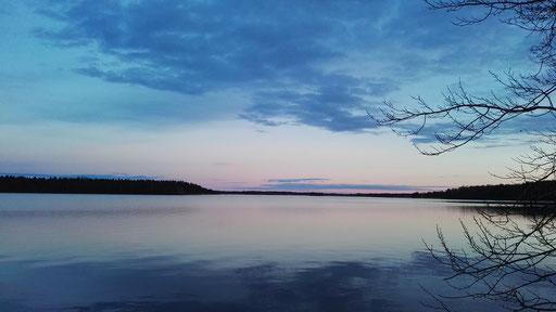 Abendlicht am Bottensjön