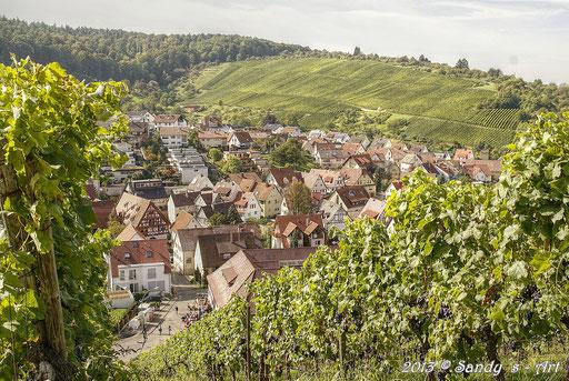 Blick auf Strümpfelbach