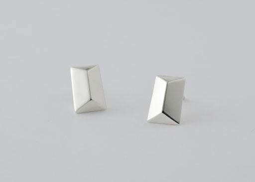 mirror / pierced earrings