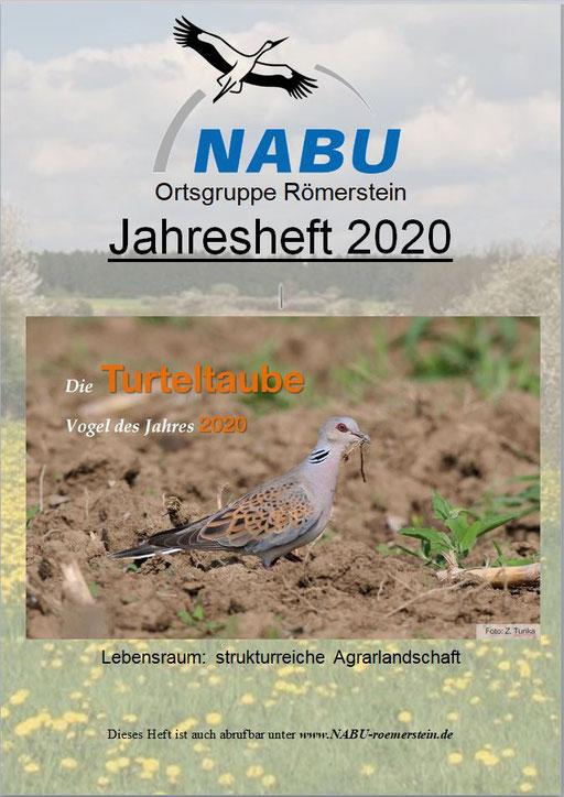 Jahresheft 2020 des NABU Römerstein
