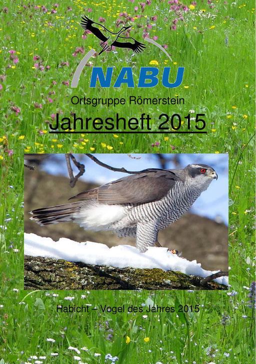 Jahresheft 2015 des NABU Römerstein