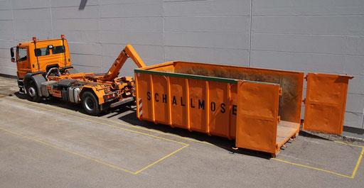 Abrollcontainer 24 cbm mit Türen