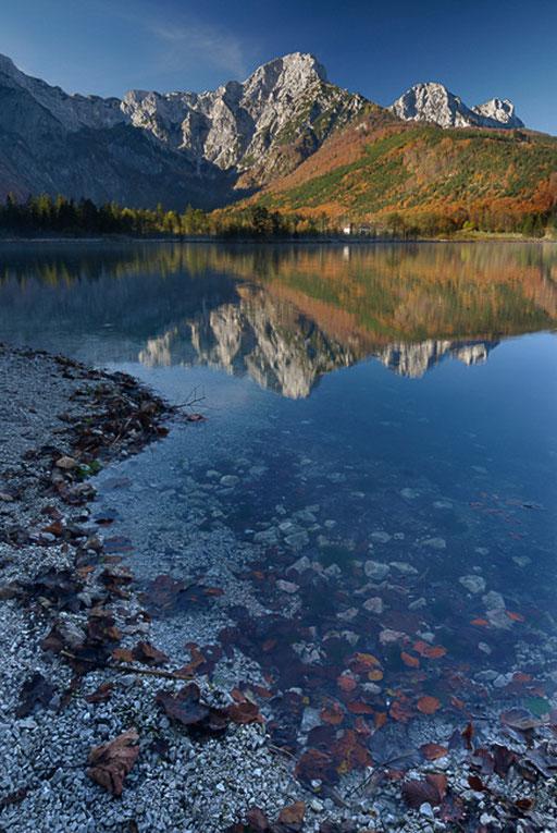 Herbststimmung, Almsee (Österreich)