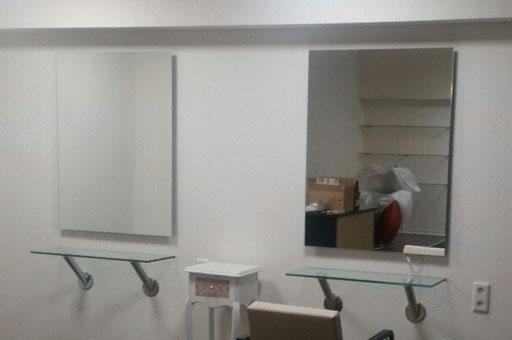 Spiegel mit polierter Kante, Extertal