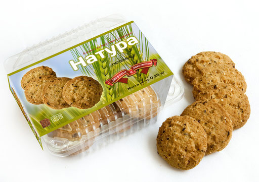 Oatmeal cookies package