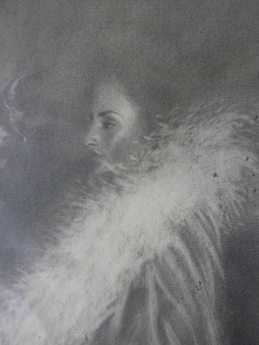 Ritratto di donna cm 66 cm 46