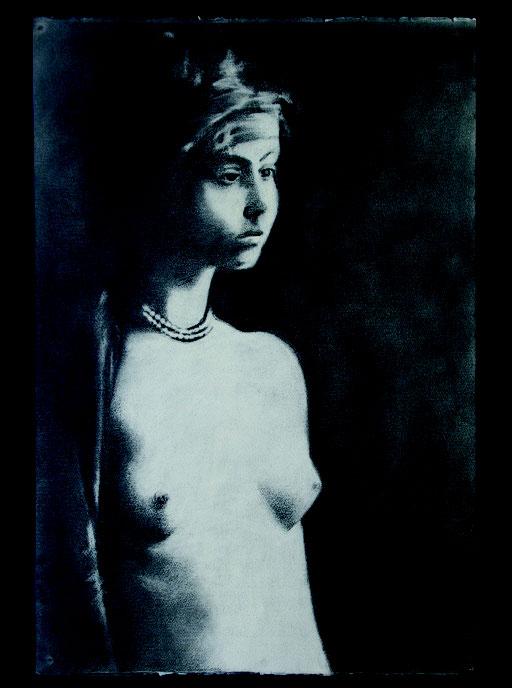 Giovane Africana cm 66 x 46