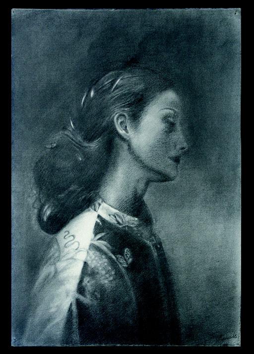 Ritratto di donna cm 66 x cm 45