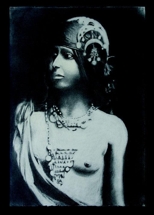 Principessa Africana cm 66 x cm 46